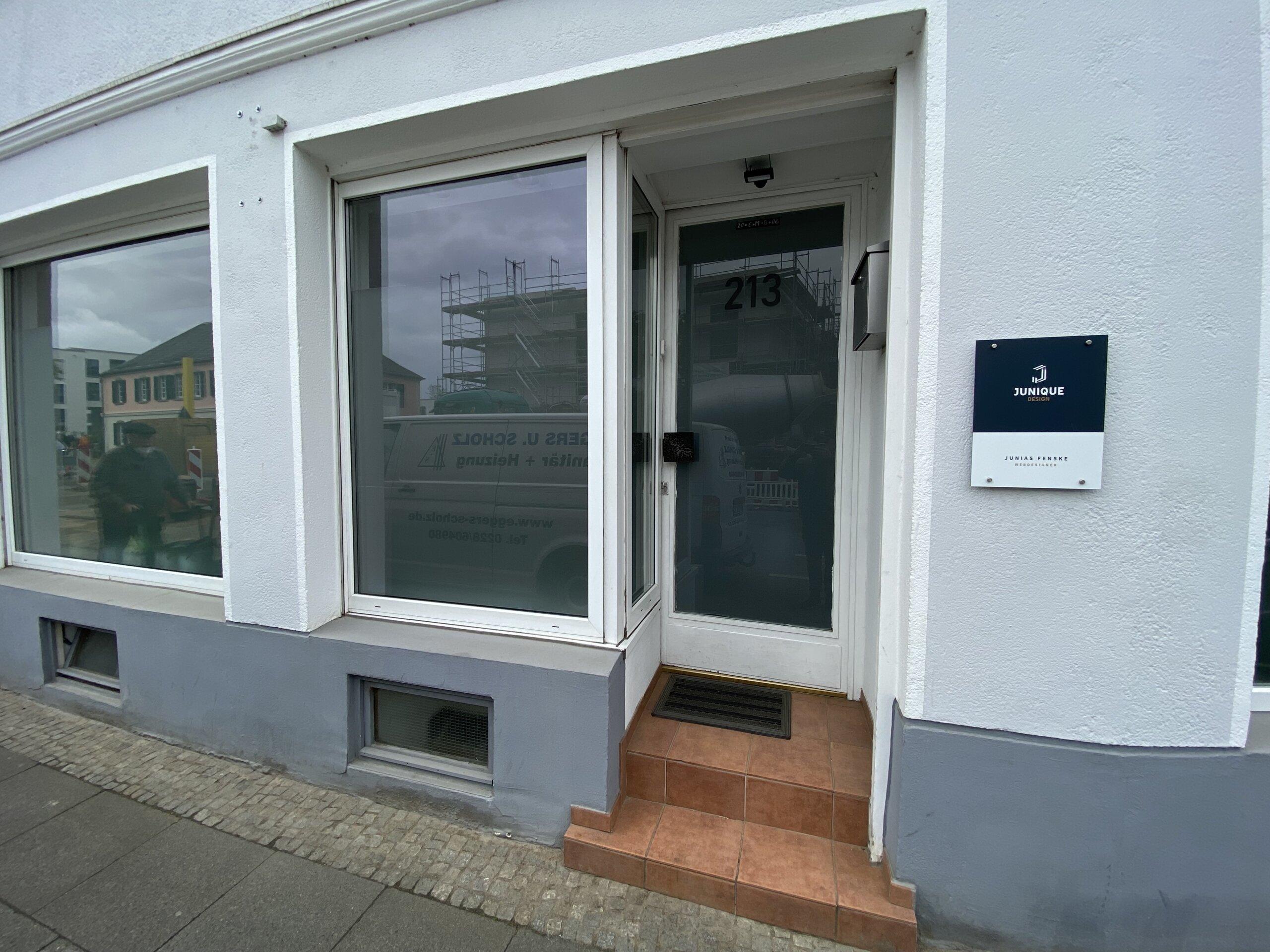 Büro Eingang Bonn